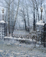 RESTRICTED - Winter Days Premade  Background by frozenstocks