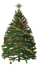 UNRESTRICTED - Christmas Tree Render by frozenstocks