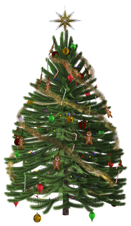UNRESTRICTED - Christmas Tree Render by frozenstocks