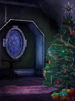 UNRESTRICTED - Christmas Night BG by frozenstocks