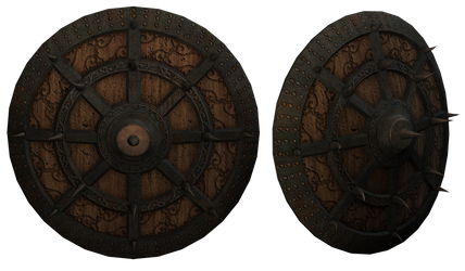 UNRESTRICTED - Medieval Shields by frozenstocks