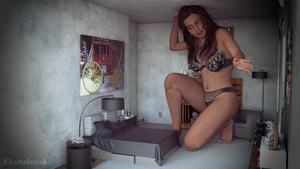 Vanessa Outgrowing Bedroom by Khabirkozak