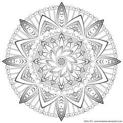 Mandala 001: Angelic Machinery by WearManyHats