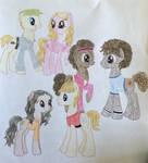 High School Musical Ponies by Qemma