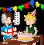 Happy Birthday Knil-Chan  (Gift) by MaxieKun