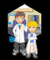 Boys of Science by MaxieKun