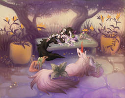 YEH Done- Twilight Garden Party by The-Monster-Shop
