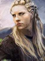 Lagertha by MarinaOrtega