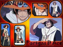 Portgas D ace by Inochi-san