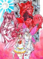 Sailor Moon Super S Movie Fanart by Dar-chan