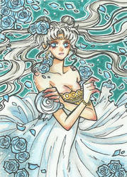ACEO#26 - Princess of the Moon by Dar-chan