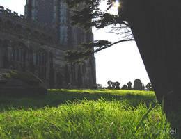 Lavenham churchyard 2 by Lpixel