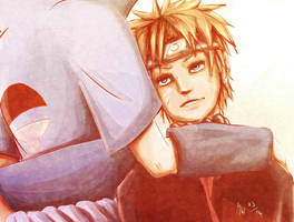 SasuNaru for ever :3 by HolyXell