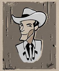 Hank Williams Sr comix by MadTwinsArt
