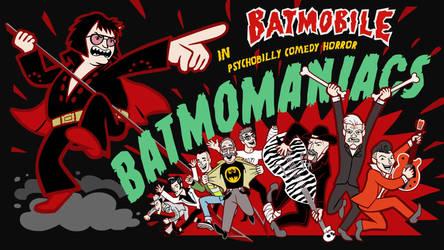 Batmobile - Batmomaniacs animated music video by MadTwinsArt