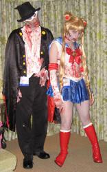 Zombie Sailor Moon by SailorEarth316