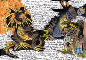 Godzilla: Myths and Mutations - JIRAS by Khialat