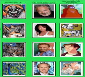 Jungle Book - Voice Actor Meme 3 by Khialat