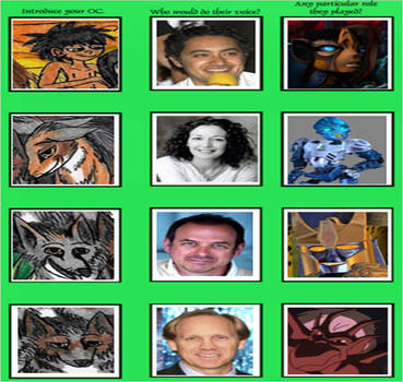 Jungle Book - Voice Actor Meme 5 by Khialat