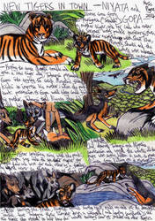 Jungle Book - New Tigers in Town by Khialat