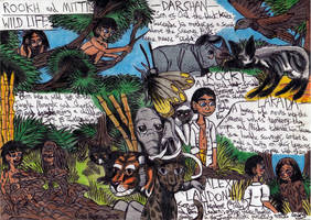 Jungle Book - Rookh and Mitti's Wild Life by Khialat