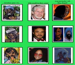 Jungle Book - Voice Actor Meme 7 by Khialat