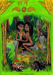 Jungle Book - Valentine's Day by Khialat