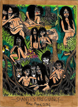 Jungle Book - Shanti's Pregnancy by Khialat