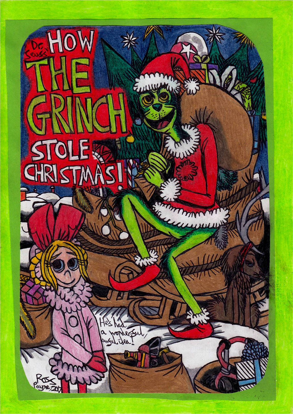 Dr. Seuss' How The Grinch Stole Christmas! 1 By Khialat On