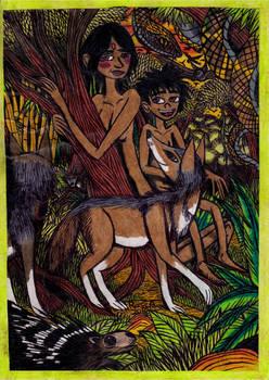 Jungle Book - Messua in the Jungle by Khialat