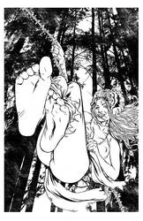 Prymal #5 alt cover by Christian Zanier by MaelstromMediaComics