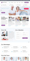 Physio - Physical Therapy  Medical Clinic WP T by Designslots