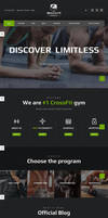Ironfit - Fitness, Gym and Crossfit WP Theme by Designslots