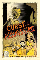 Curse of Mummy Stone Cover by jemurr
