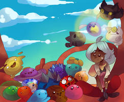Slime rancher wallpaper by royer27