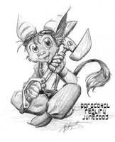 Little Ratchet by paradoxal