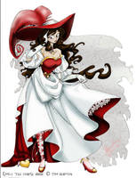 Queen of Hearts by paradoxal