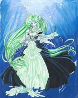 Aquamarine Dreams by paradoxal