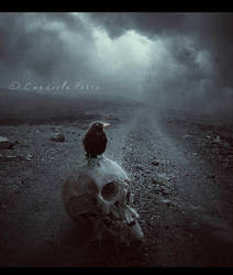 Alone in the Path by Consuelo-Parra