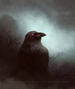 The Raven by Consuelo-Parra
