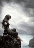 The edge of sea by Aeternum-designs