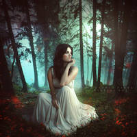 The lonely soul by Consuelo-Parra