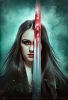 Blood battle by Consuelo-Parra