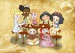 A Little Tea Party by TheNamelessDoll