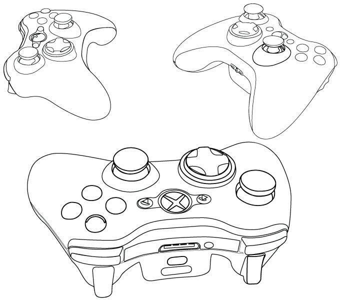 Xbox Controller Outline