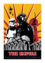 Star Wars propaganda poster II by theCrow65