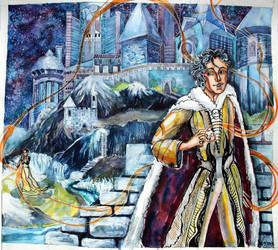 Illustration for one story (not my story) by AgniyaKabitova