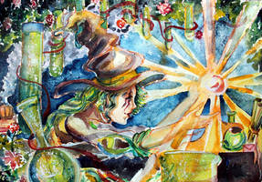Witch Klaid by AgniyaKabitova