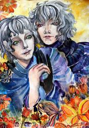 Gilbert and Dorge by AgniyaKabitova