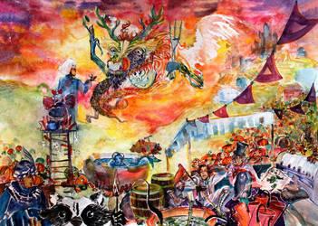 Bisness with the Dragon by AgniyaKabitova